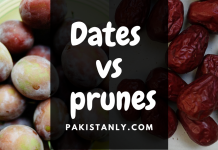 Dates vs. prunes