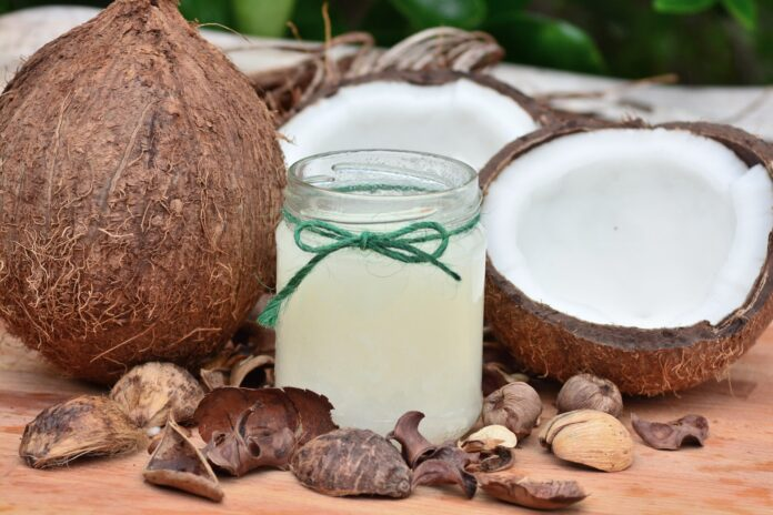 Coconut oil for skin lightening